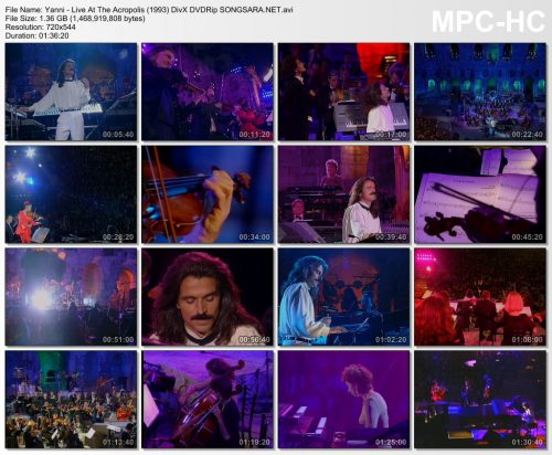 Yanni - Live At The Acropolis (1993) DivX DVDRip