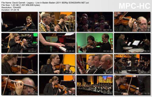 David Garrett - Legacy - Live in Baden Baden