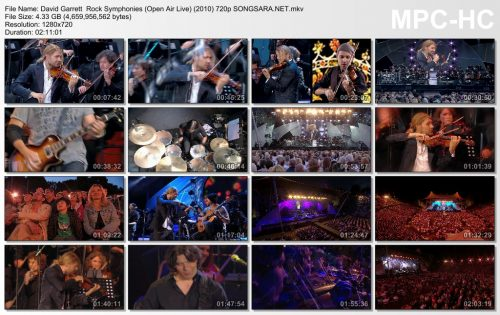 David Garrett Rock Symphonies (Open Air Live) (2010) 720p