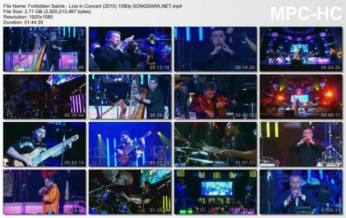 Forbidden Saints - Live in Concert (2010) 1080p