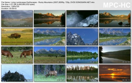 Living Landscapes Earthscapes - Rocky Mountains (2007