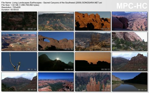 Living Landscapes Earthscapes - Sacred Canyons of the Southwest