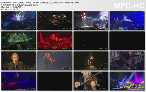 David Garrett - Music Live In Concert (2012) DVD9