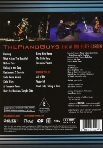 dvd-piano-guys-at-red-butte-garden-eua-novo-lacrado