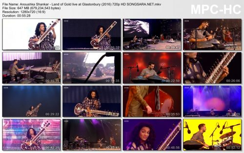 Anoushka Shankar - Land of Gold live at Glastonbury (2016)
