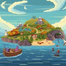 Purrple Cat Adventure Island
