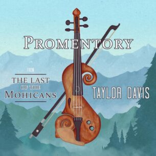 """Taylor Davis Promentory (from """"The Last of the Mohicans"""")"""