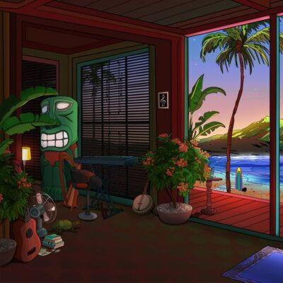 Living Room After Sunset