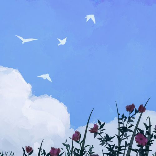 tender spring Springtime, with friends